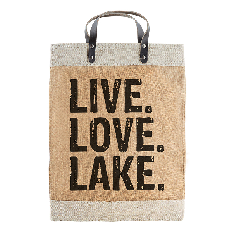 Farmer's Market Tote - Live Love Lake