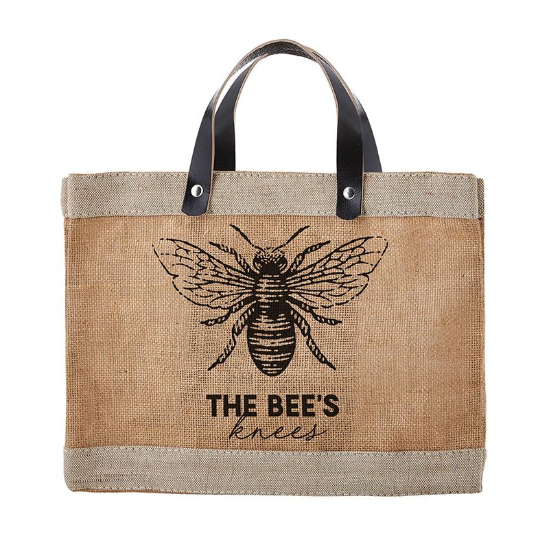 Farmer's Market Mini Tote - Bees Knees
