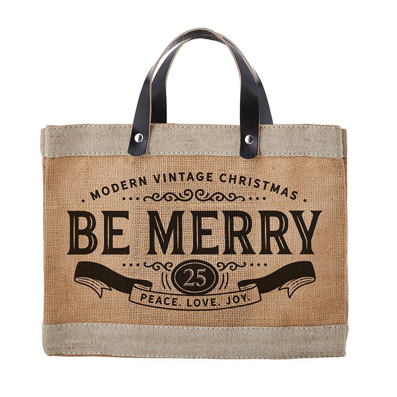 Farmer's Market Mini Tote - Be Merry