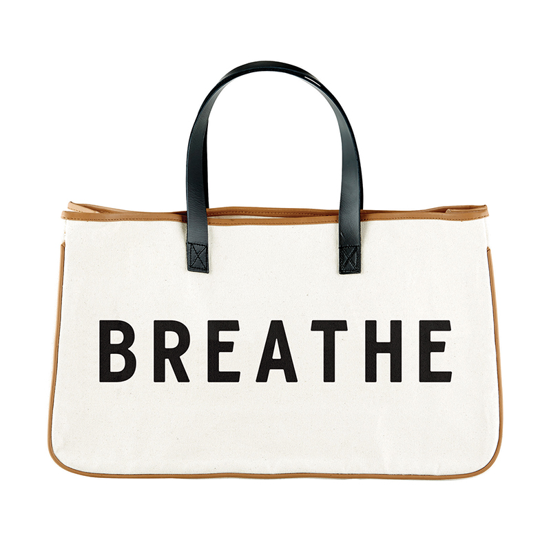 Canvas Tote - Breathe