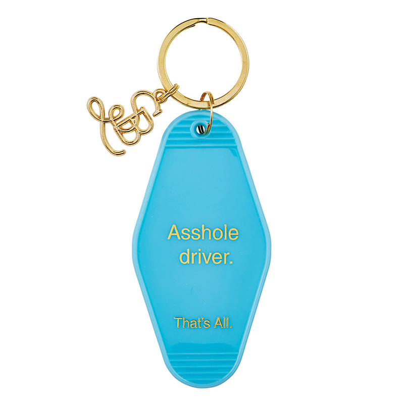That's All® Motel Key Tag - Asshole Driver