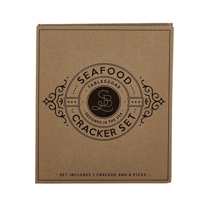 Cardboard Book Set - Seafood Cracker