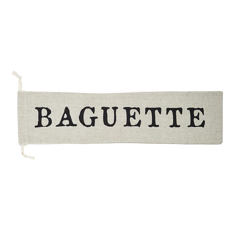 Drawstring Baguette Pouch