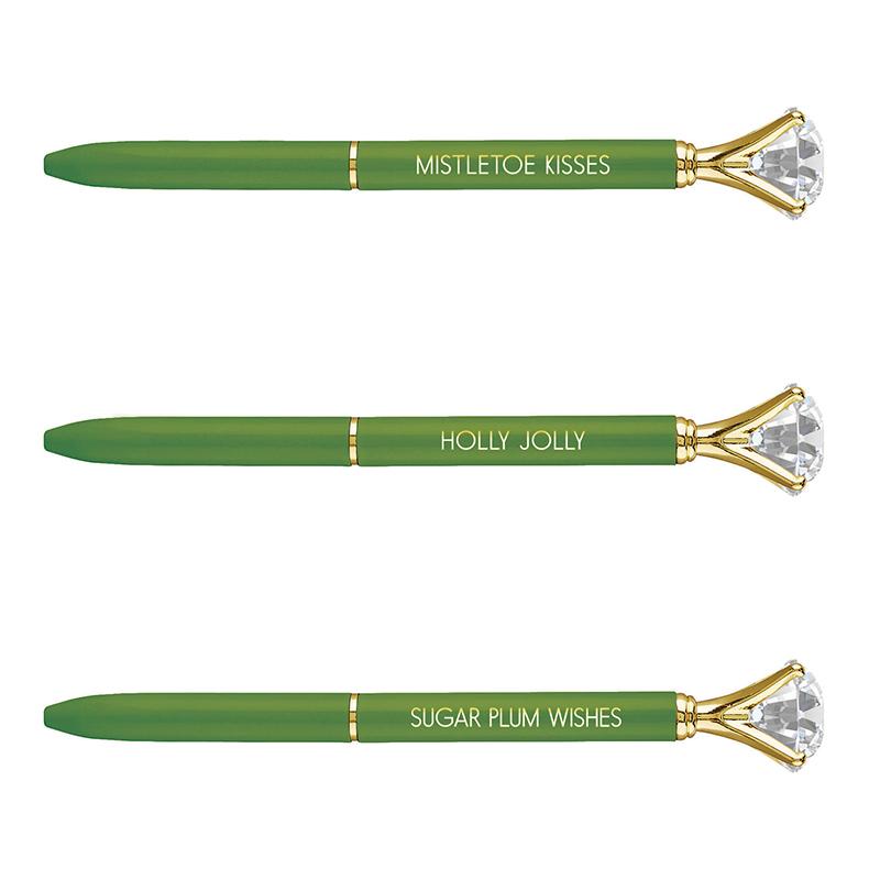 Gem Pens - Green Holiday