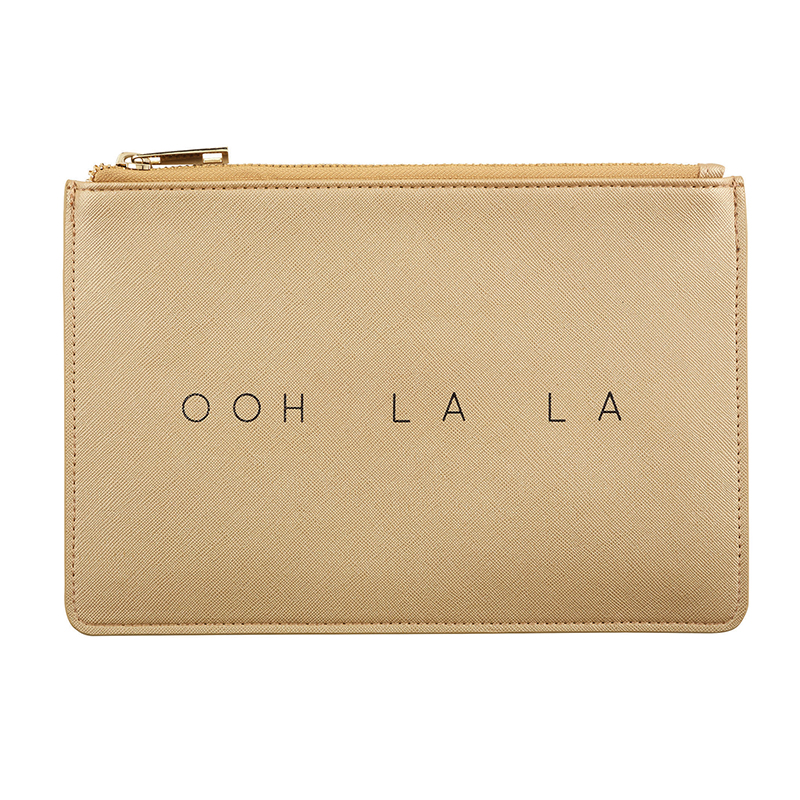 Fashion Pouch - Ooh La La - Gold