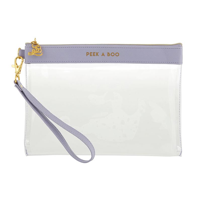 Clear Wristlets - Peek A Boo - Lavender