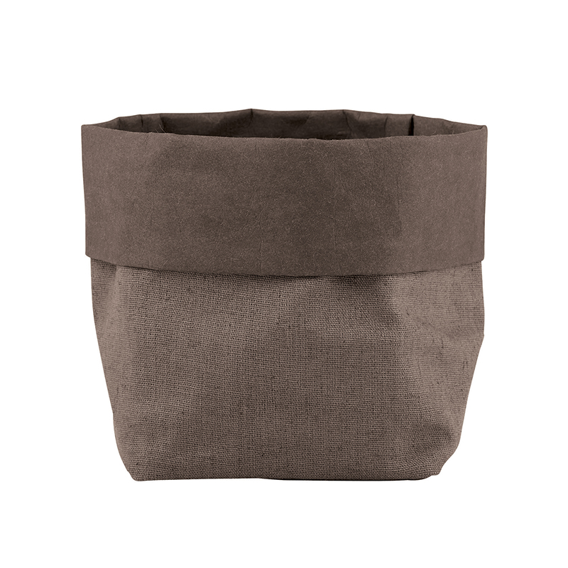 Washable Paper Holder - Small - Stone Linen