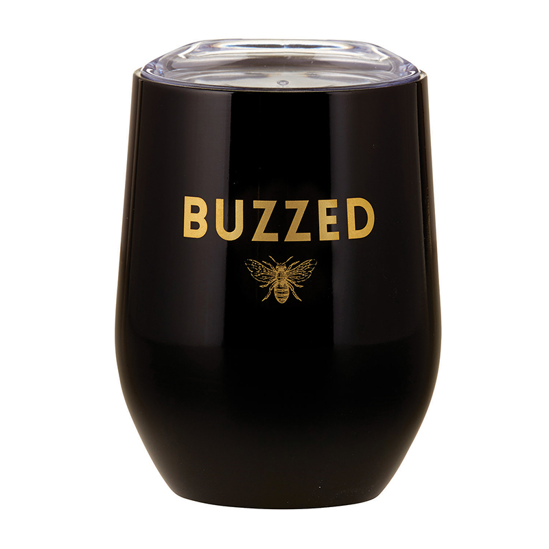 Stemless Wine Tumbler - Buzzed