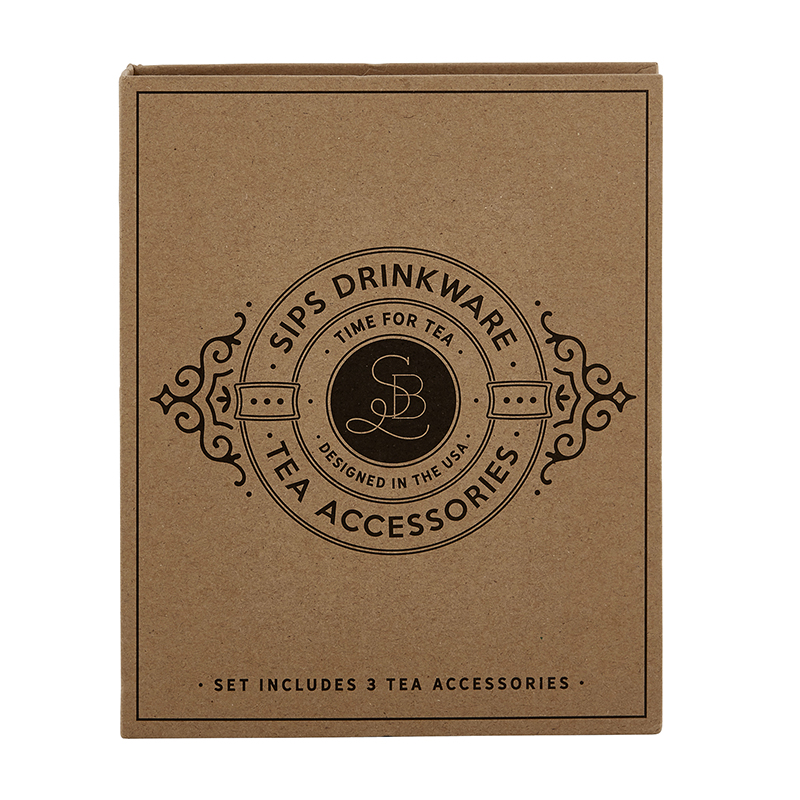 Cardboard Book Set - Tea Accessories