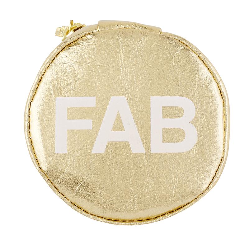 Tech Pouch - Gold