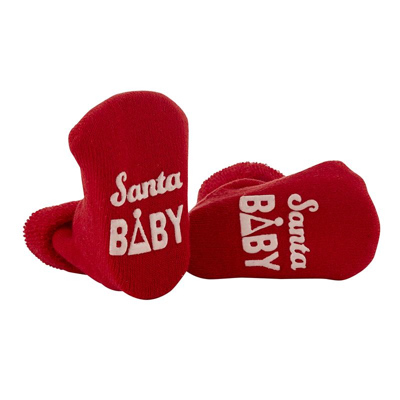 Socks - Santa Baby, 3-12 months