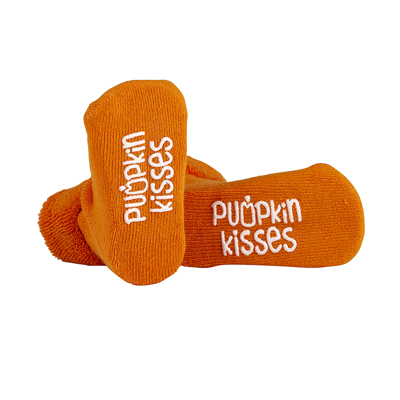 Socks - Pumpkin Kisses, 3-12 months