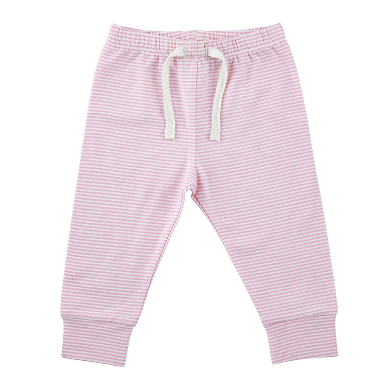 Pants - Pink Stripe, 0-6 months