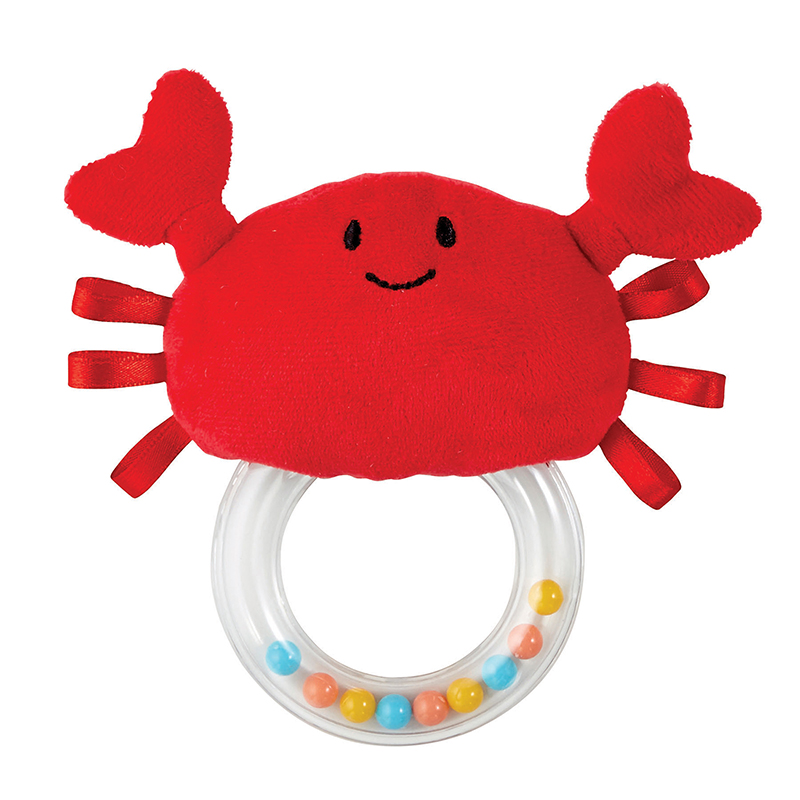 Teether - Crab Rattle