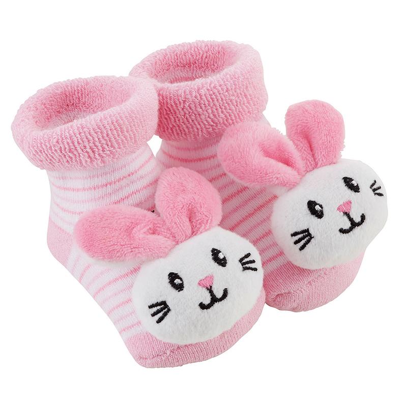 Rattle Socks - Bunnie, 3-12 months