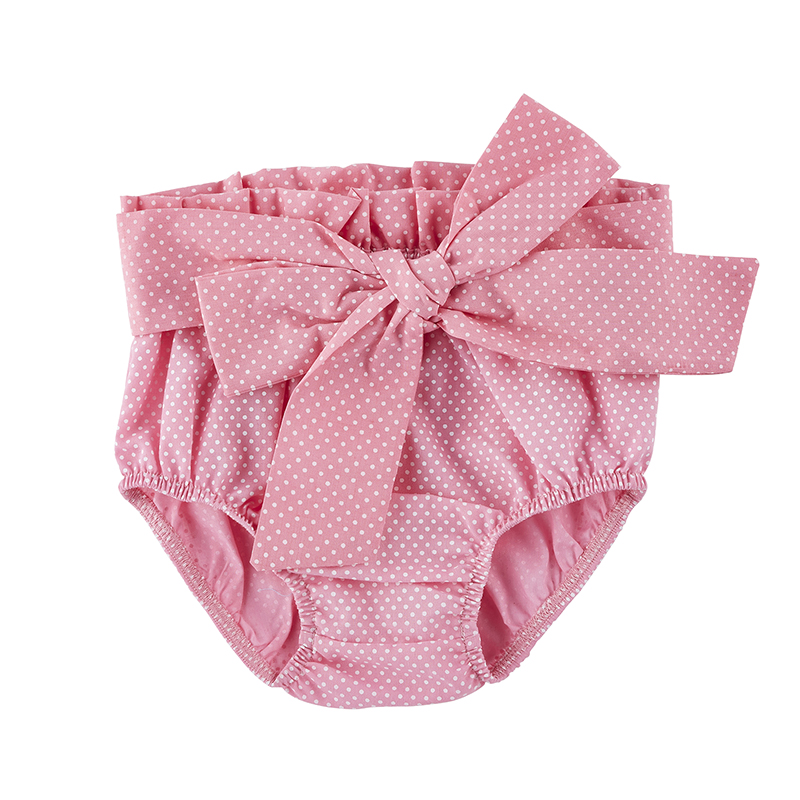 Tie Bloomers - Pink, 6-12 months