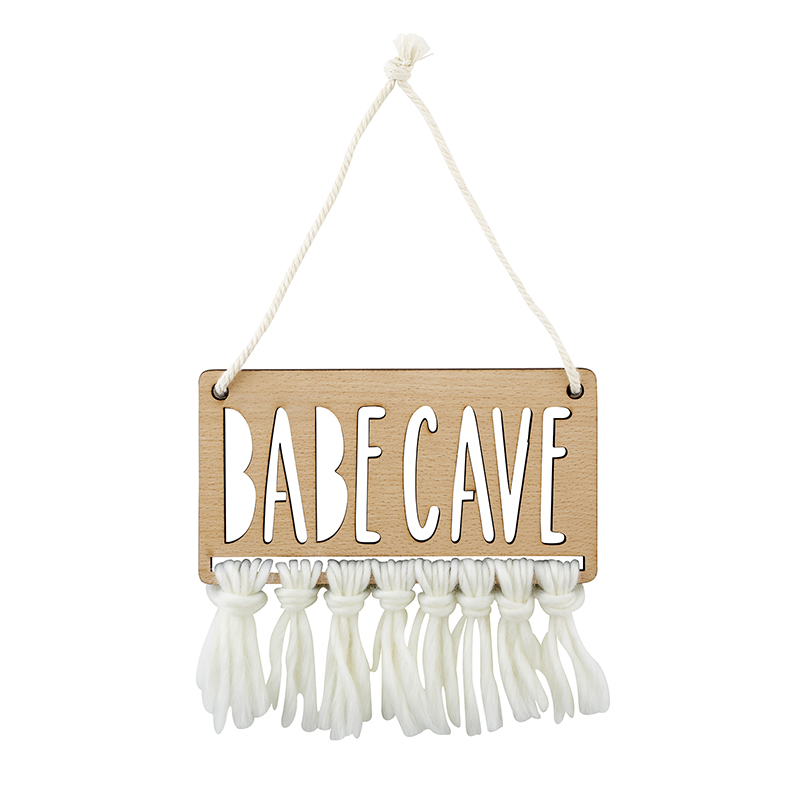 Wood Sign - Babe Cave