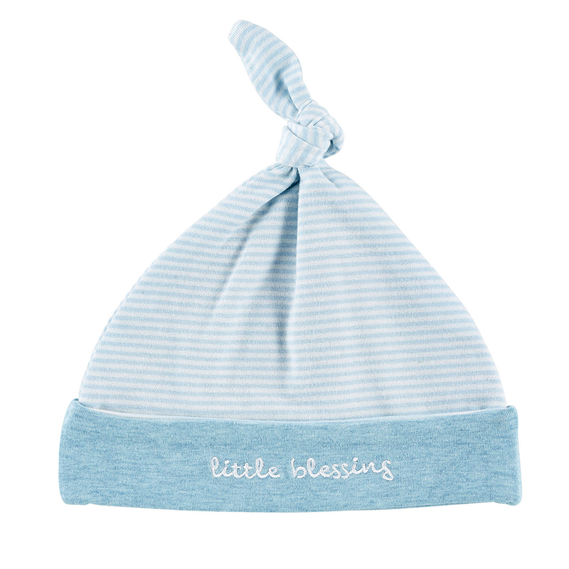 Cap - Blue - Little Blessing, Newborn