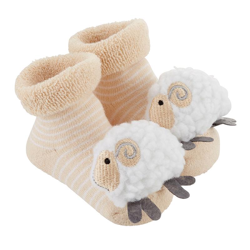 Rattle Socks - Lamb, 3-12 months
