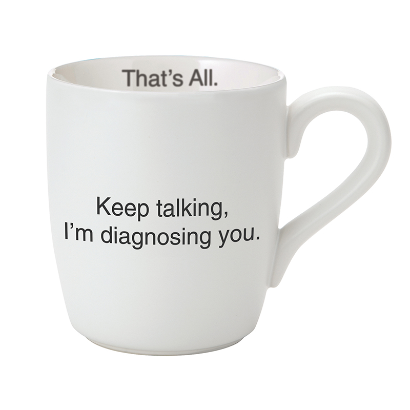 That's All® Mug - Keep Talking