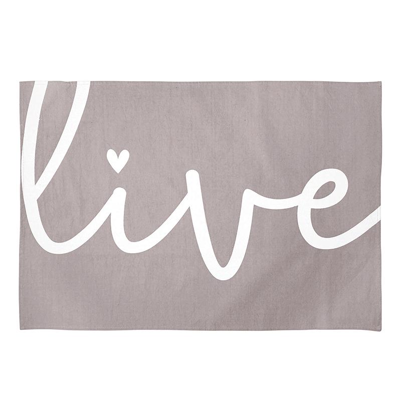 Tea Towel - Live