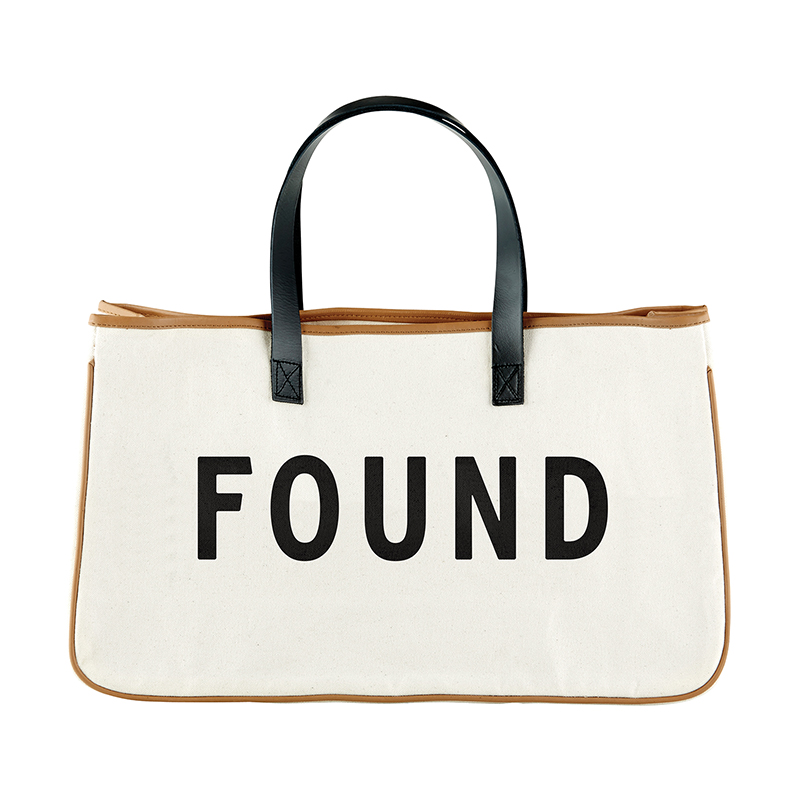 Canvas Tote - Found