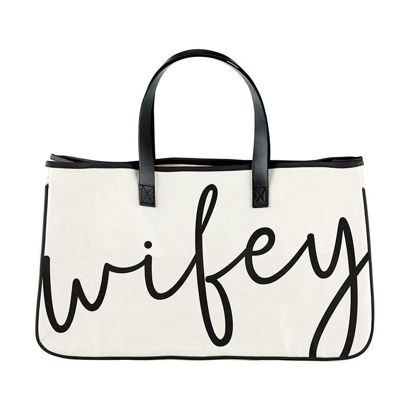 Canvas Tote - Wifey