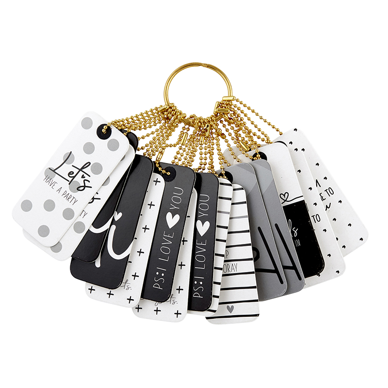 Gift Tag Book - Black and White