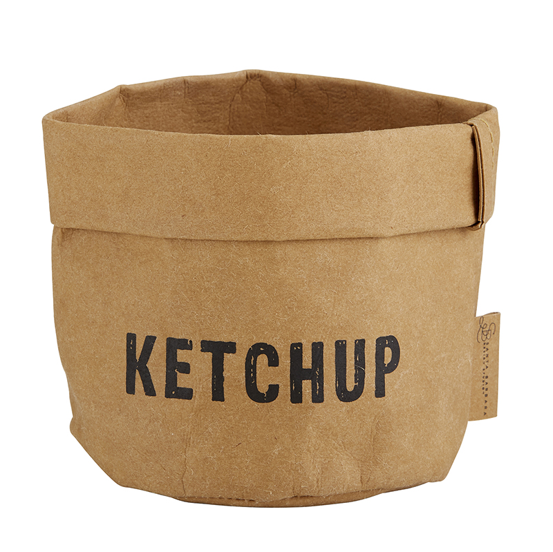Washable Paper Holder - Small - Ketchup