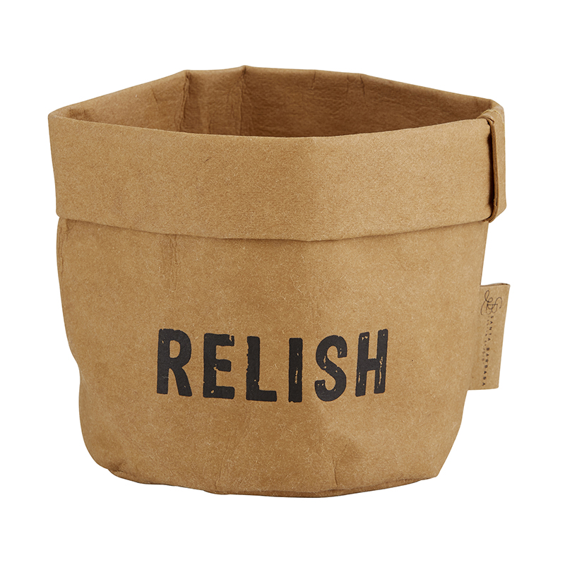 Washable Paper Holder - Small - Relish
