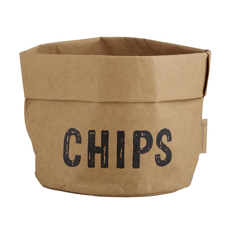 Washable Paper Holder - Large - Chips