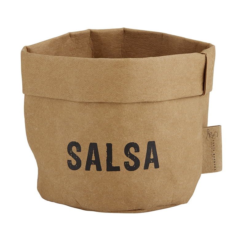 Washable Paper Holder - Small - Salsa