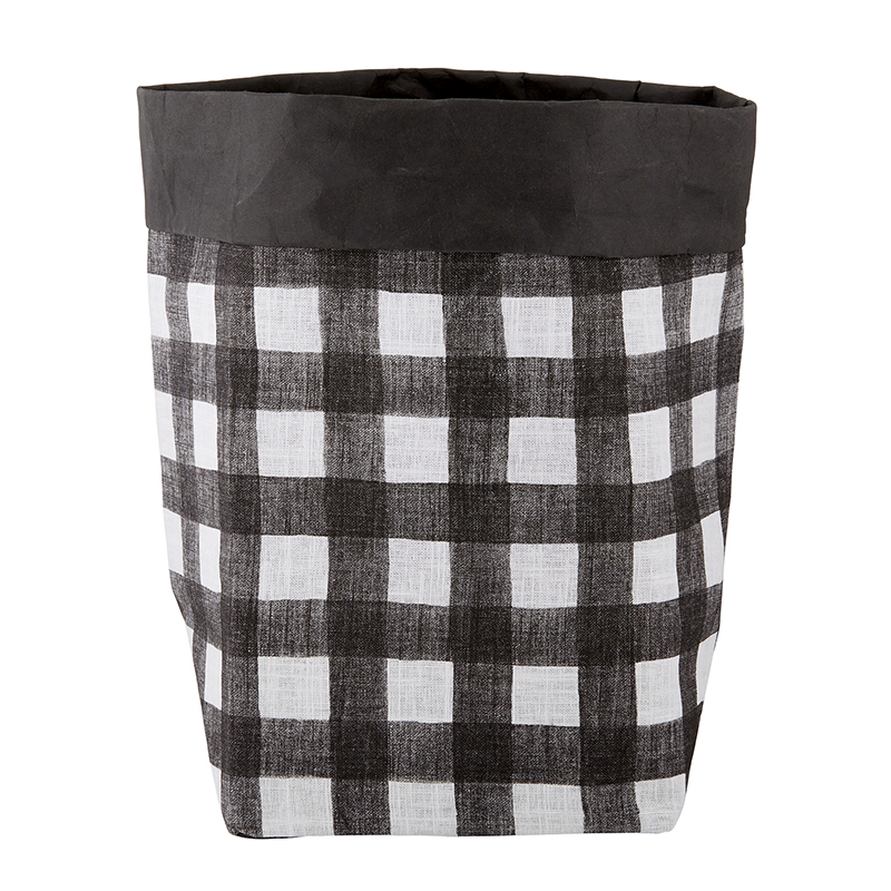 Washable Paper Holder - Large - Buffalo Check