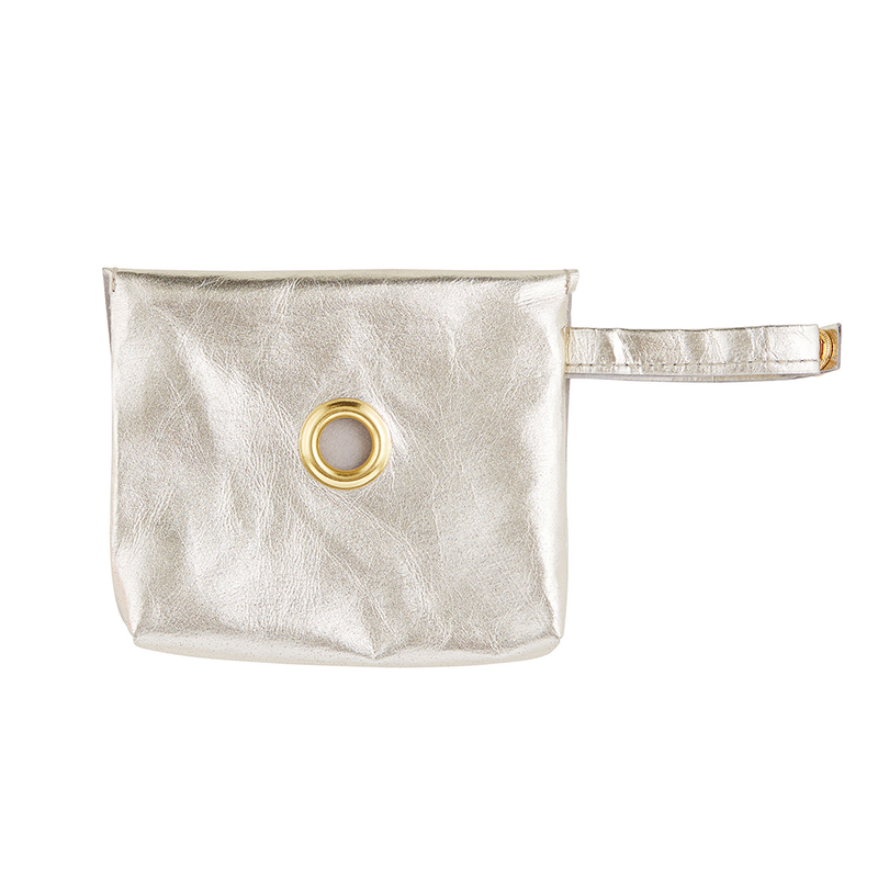 Washable Paper Waste Pouch - Champagne