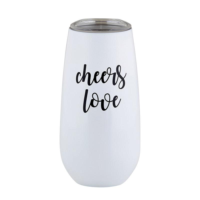 Champagne Tumbler - Cheers Love
