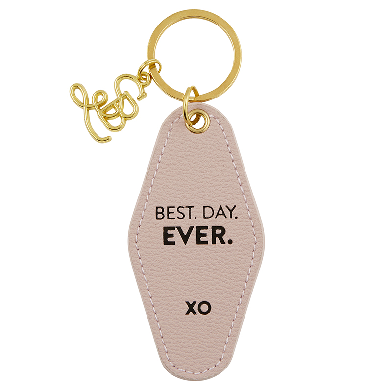 Vintage Motel Key Tag - Best Day Ever