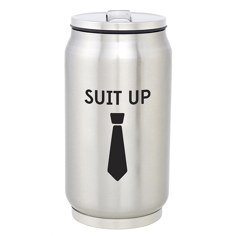 Stainless Steel Can - Suit Up