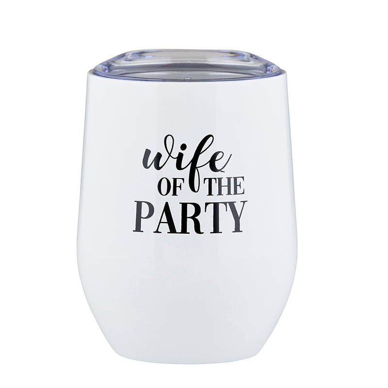 Stemless Wine Tumbler - Wife of the Party
