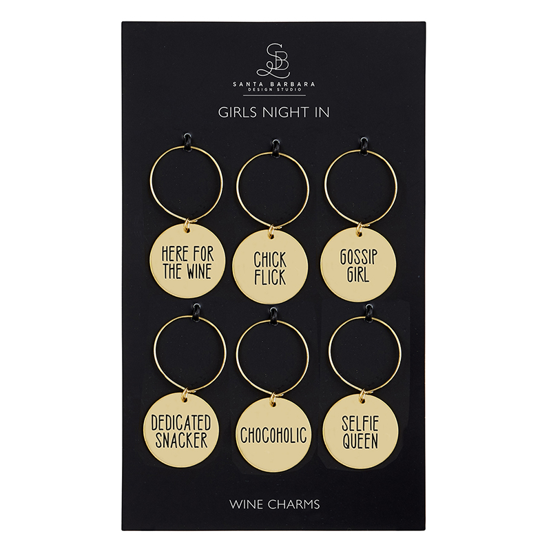 Wine Charm Set - Girls Night In