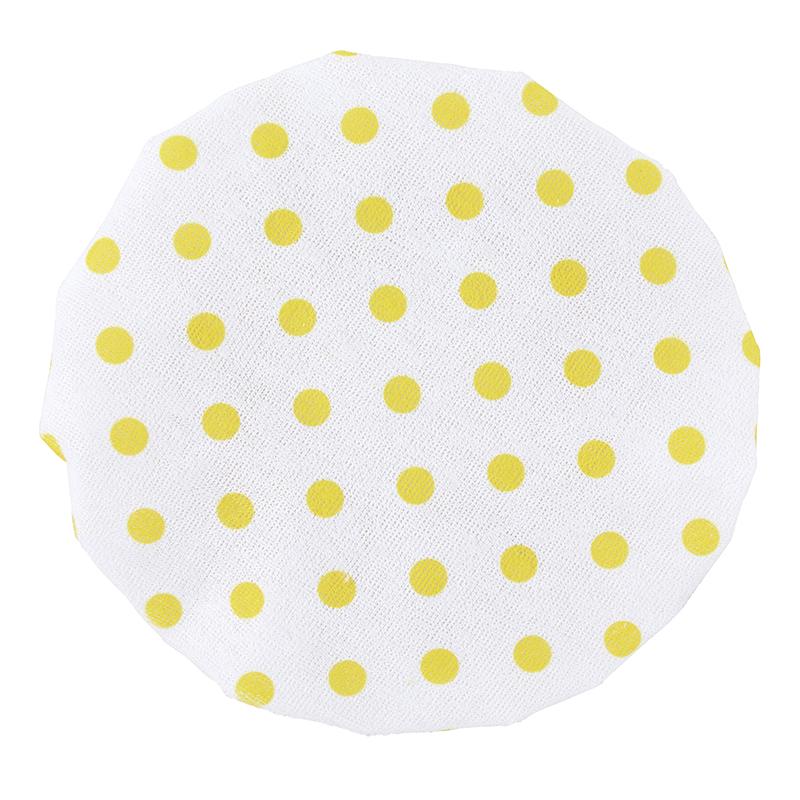 Shower Cap - Yellow Dot