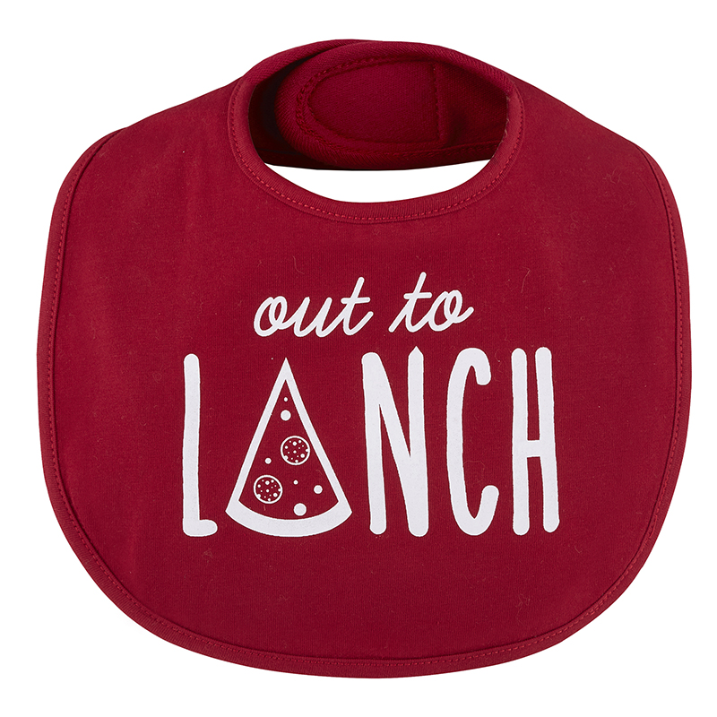 Veggie Bib - Out To Lunch, 3-12 months