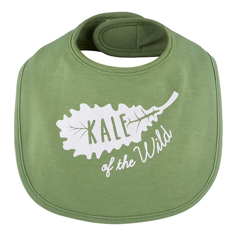 Veggie Bib - Kale Of The Wild, 3-12 months