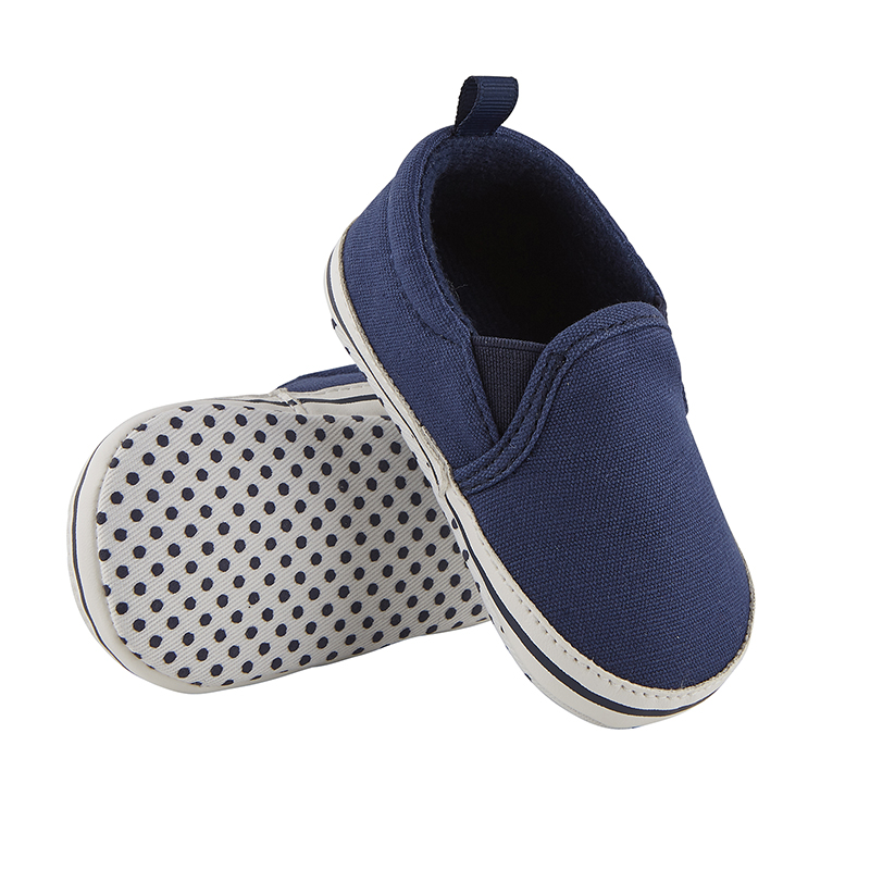Shoes - Navy Canvas, 6-12 months