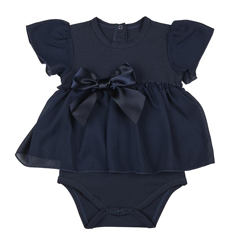 Dress - Navy, 6-12 months