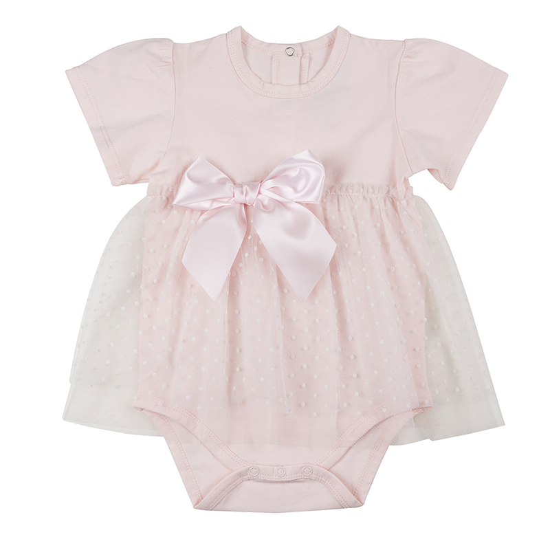 Dress - Blush Dot, 6-12 months