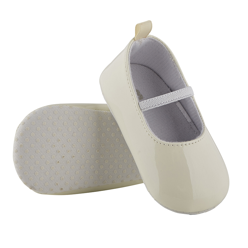 Patent Shoes - Cream, 6-12 months