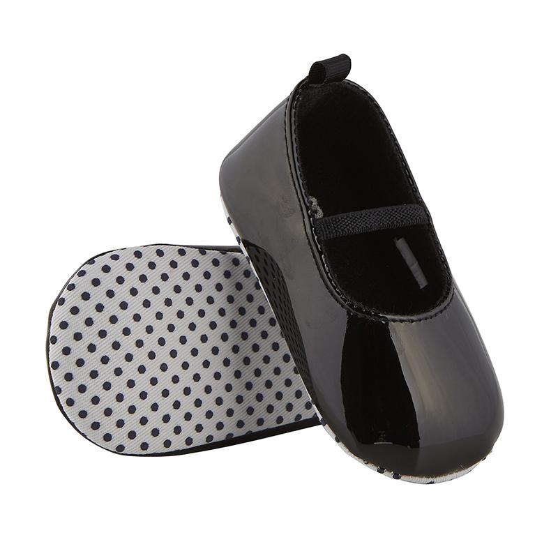 Patent Shoes - Black, 6-12 months