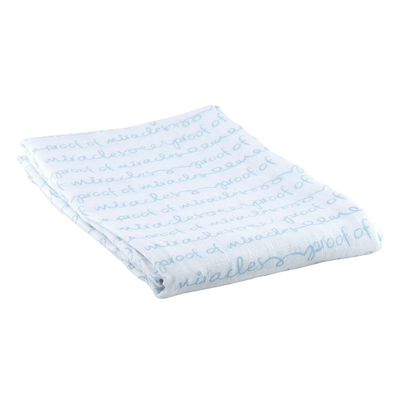 Swaddle Blanket - Proof of Miracles