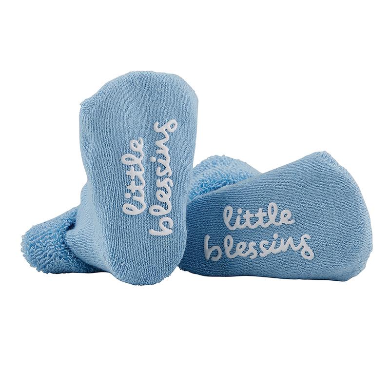 Socks - Little Blessing Blue, 3-12 months