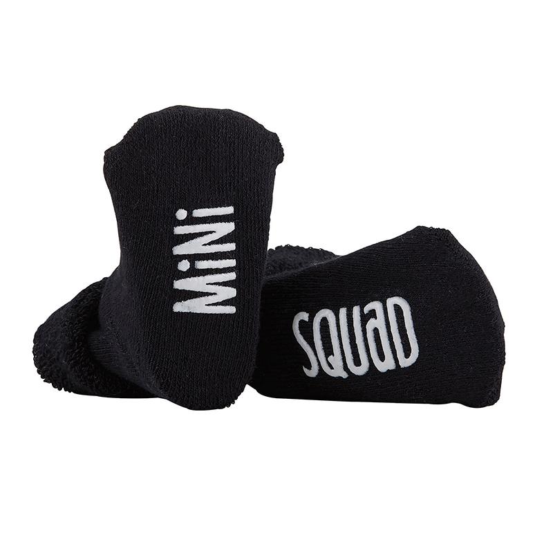 Socks - Mini Squad - Black, 3-12 months